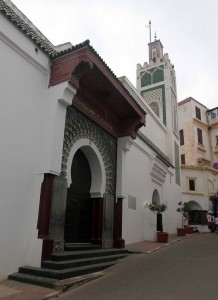Mosque in Tangier's medina.