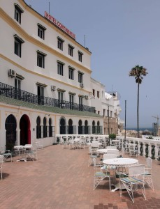 The Hotel Continental in Tangier.