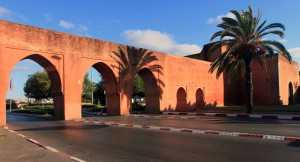 Part of the wall on the south side of Rabat (at the end of the Administrative Quarter).