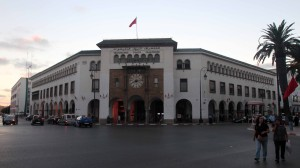 Post Office in Rabat.