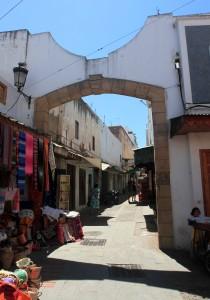 Street in the medina.
