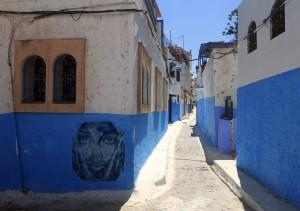 Street in the Kasbah.