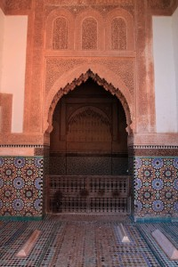 More burial tombs and an entryway at Saadian Tombs.