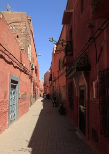 Another street in Marrakesh.