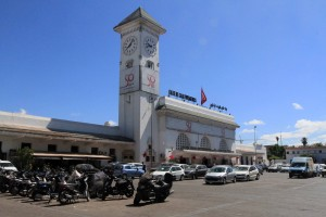 Casablanca Voyageurs Railway Station.