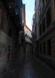 Street in Valencia.