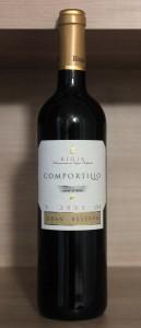 Bottle of Spanish Rioja.