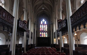 Inside Chapel Royal.