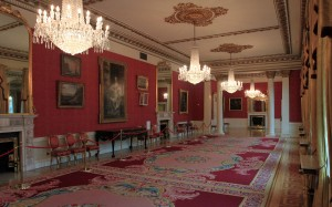 The Drawing Room inside the State Apartments.