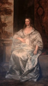 'Elizabeth Leigh, Countess of Southampton', by Anthony Van Dyke (1641 AD).