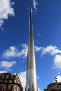 The Spire of Dublin, on O'Connell Street.