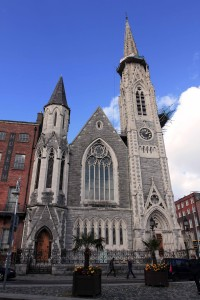 The Abbey Presbyterian Church, located adjacent to the Dublin Writer's Museum.