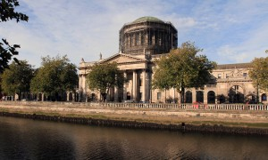 The Four Courts, Ireland's main courts building (built in 1802 AD).