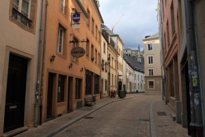 A street in the Grund.