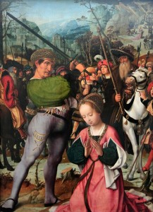 'The Martyrdom of Saint Catherine' by Jan Provoost (1501-1505 AD).