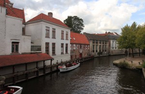Another canal in the historic city of Bruges.