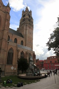Sint-Salvator Cathedral, which dates back to the 10th-century AD.