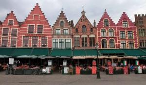 Restaurants along the Market Square.