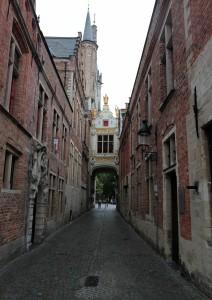 Street alongside the City Hall.