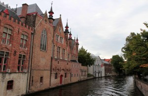 Another view of the canal in Bruges.
