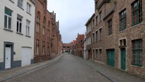 A street in Bruges.