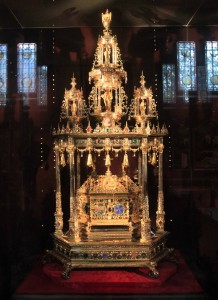 Great Reliquary of the Holy Blood (1617 AD).