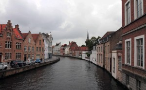 Yet another canal in Bruges.