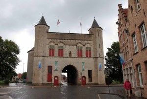 Kruispoort city gate.