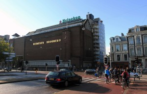 The Heineken Brewery.