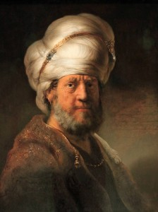 'Man in Oriental Dress' by Rembrandt van Rijn (1635 AD).