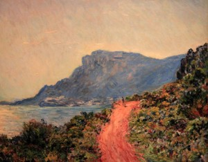 'La Corniche near Monaco' by Claude Monet (1884 AD).