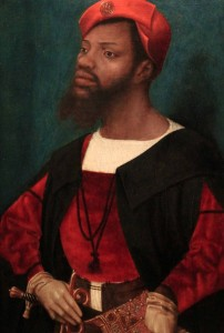 'Portrait of an African Man' by Jan Jansz Mostaert (1525-1530 AD) - this is the only known portrait of a black man in early European painting.