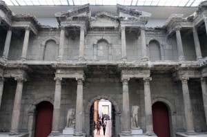 Center-view of the Market Gate of Miletus.
