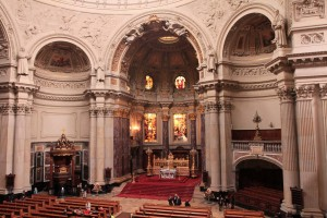 Interior of the Berlin Cathedral.