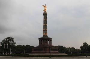 The Berlin Victory Column, built to commemorate the Prussian victory in the Danish-Prussian War.
