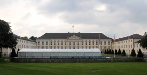 Bellevue Palace; it was built in 1786 AD and has been the official residence of the President of Germany since 1994 AD.