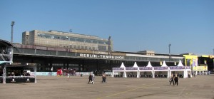 The old terminal building for Berlin Tempelhof Airport.