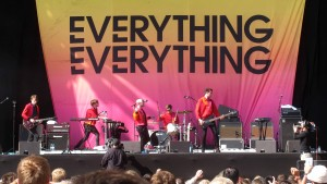 The band Everything, Everything.