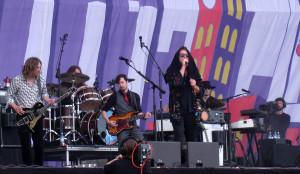 My Morning Jacket playing at Berlin Lollapalooza.