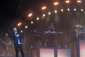 Sam Smith performing at Berlin Lollapalooza.