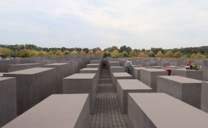 The Memorial to the Murdered Jews of Europe (located south of the American Embassy, near the Brandenburg Gate).