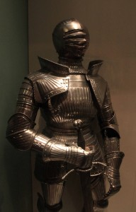 Field and jousting armor from the early 16th-century AD.