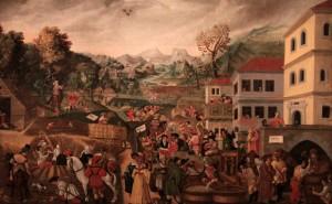 'Augsburg Labors of the Months: Autumn (July, August, September)' by Jörg Breu the Elder (1531 AD).