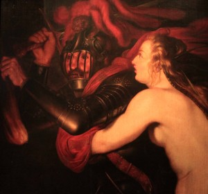 'Mars and Venus or the Horrors of War' - an allegory in connection with the Thirty Years' War (17th-century AD).