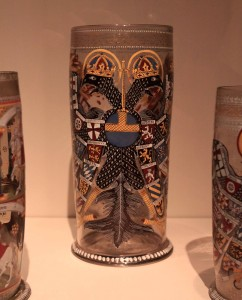 An Imperial Eagle beaker from the 17th-century AD.