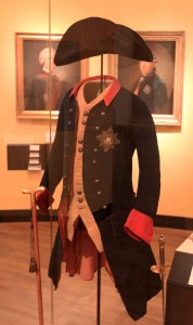 Uniform of Frederick the Great (reign: 1740-1786 AD).