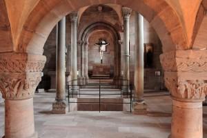 The Imperial Chapel, built in the 13th-century AD.
