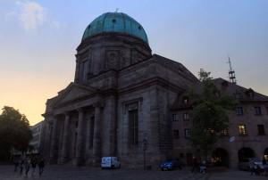 St. Elizabeth Church in Nuremberg.
