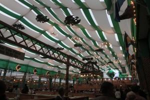 Inside the Armbrustschützen beer hall.