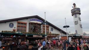 The Löwenbräu beer hall.